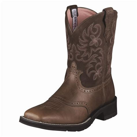 ariat s western cowboy boots ranchbaby square toe