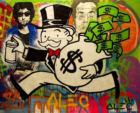 graffiti  art  allowed alec monopoly   moscow
