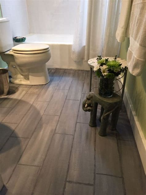 wood floor tile bathroom bathroom floor tile or paint hometalk