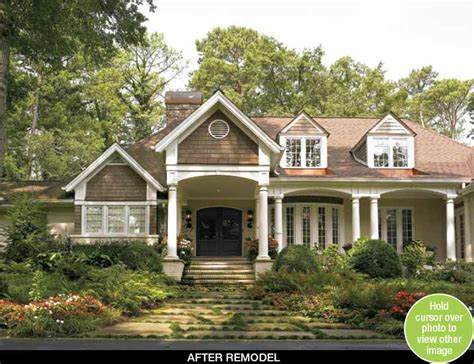 ranch style exterior makeovers before and after quotes