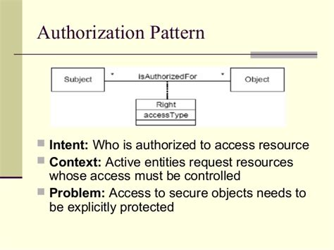 a pattern language for security models security patterns and model driven architecture