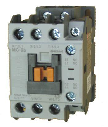 Contactor Ls Mc 9b ls mc 9b metasol 3 pole 9 contactor with a 120vac