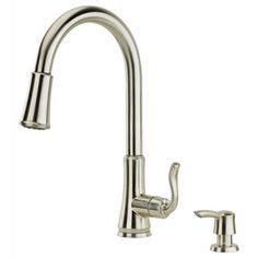 delta 21966lf ss dennison bridge kitchen faucet w spray faucets on pinterest bathroom faucets kitchen faucets
