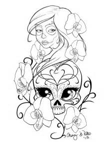 Octopus Chandelier Buy Sugar Skull Sleeve Tattoo Design By Kcspaghetti On Deviantart
