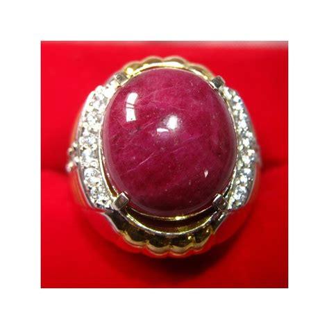 Cincin Ruby cincin batu ruby ring 9us memo keaslian batu mulia