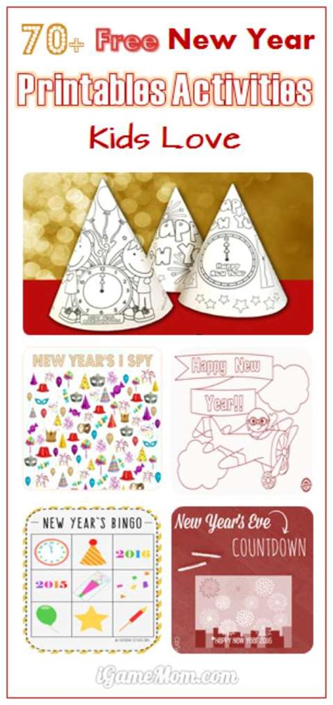 new year lesson 70 free new year printable activities for