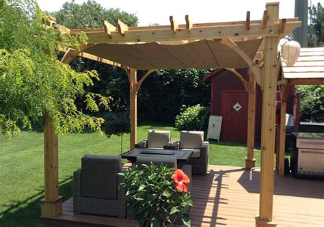 10 X10 Breeze Pergola With Retractable Canopy Pergola Pergola With Retractable Canopy