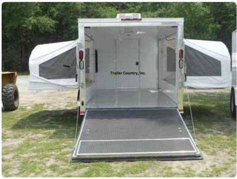 rv fold out bed this is a great concept trailer to haul just about
