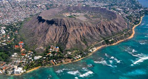 volcanoes in hawaii map image gallery oahu volcanoes map