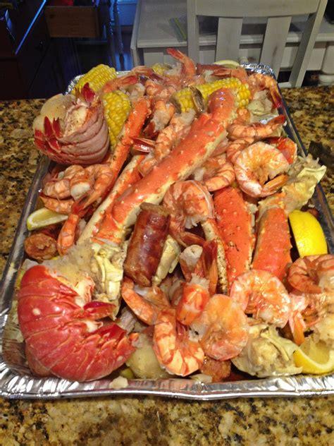 crab shrimp and lobster boil after pic shrimp boil pinterest lobster boil