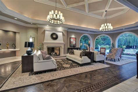 living room in mansion billionaire jeff skoll selling 20m mansion in los altos