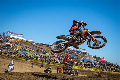 ama national motocross ama national hangtown come previsto tomac e osborne