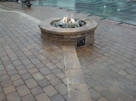 diy gas fire pit a great choice for pollution free