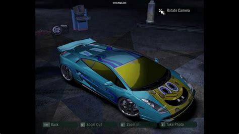 Lamborghini Gallardo Max Speed Need For Speed Carbon Spongebob Lamborghini Gallardo