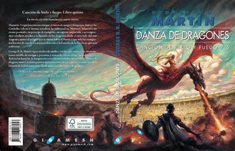 danza de dragones dark wolf s fantasy reviews cover art quot a song of ice and fire quot by george r r martin spanish