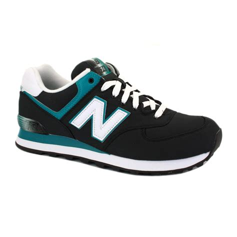 new balance sneakers new balance trainers alpine 574 mens laced textile shoes