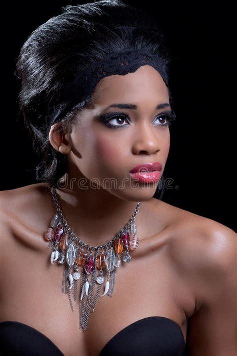 elegant mature woman wearing silver jewelry stock photo beautiful young woman wearing stylish necklace royalty
