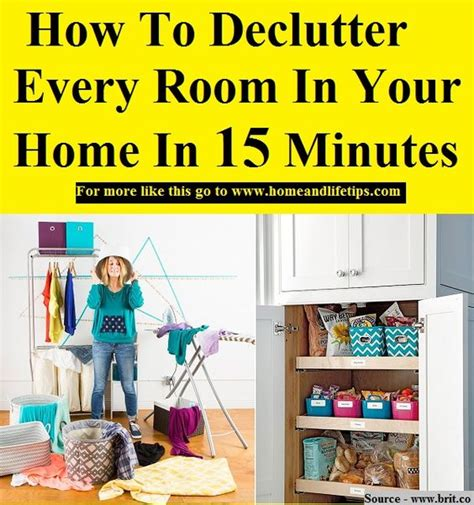 how to declutter your room declutter and home on