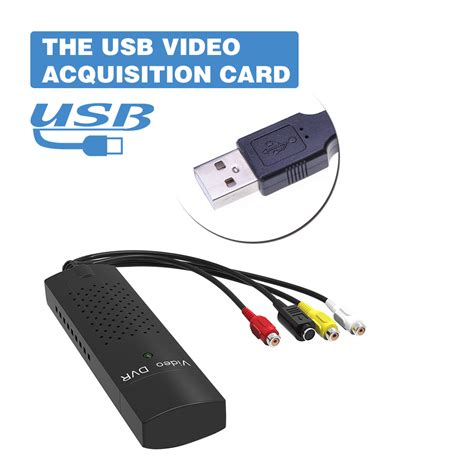 Rca S To Usb dvd dvr usb 2 0 capture adapter converter cable with
