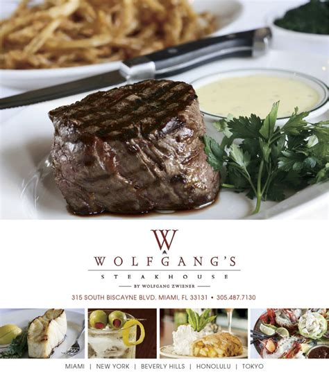 steak house miami wolfgang s steakhouse miami fl