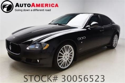 how petrol cars work 2011 maserati quattroporte navigation system find used 2011 maserati quattroporte s 14k mile nav sunroof park assist 1 owner cln carfax in
