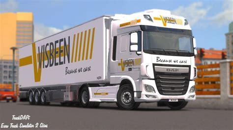 Visbeen Visbeen Transport Combo Skin Euro Truck Simulator 2 Mods