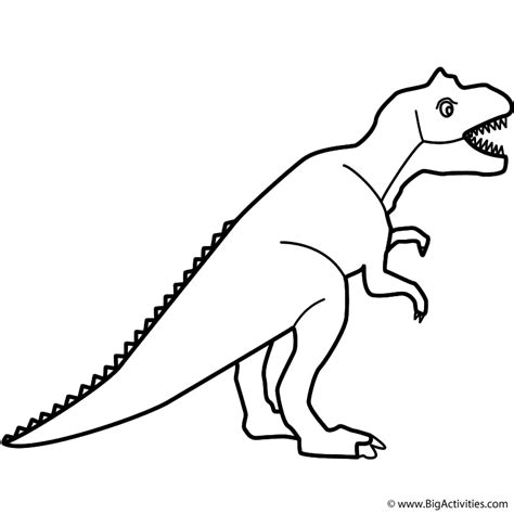 tyrannosaurus rex t rex coloring page valentine s day