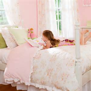Shabby chenille kids bedding little girl s kids bedding carousel