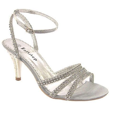 bridesmaid sandals s sandals diamante evening prom wedding bridal