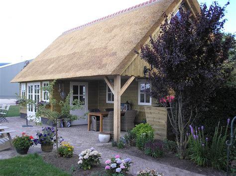 tuinhuis friesland houten tuinhuisjes friesland bouwservice veenwouden