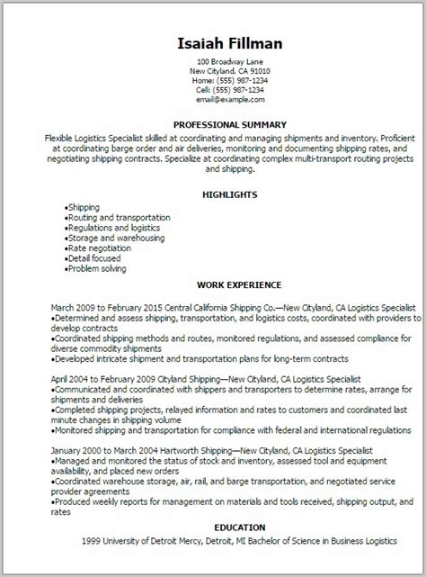 to civilian transition resume resume resume