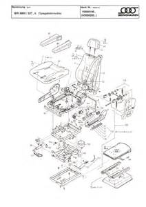 daf seat parts from isri seating