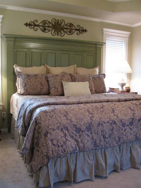 diy headboards for king beds de 25 bedste id 233 er inden for king headboard p 229 pinterest