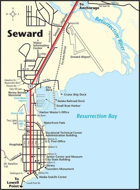 us map seward alaska car rental seward forum tripadvisor