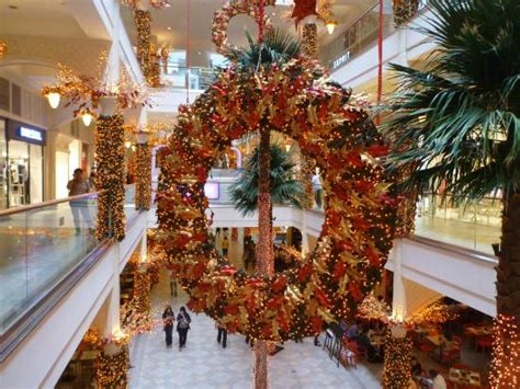malls decorated in christmas decorations picture of power plant mall makati tripadvisor