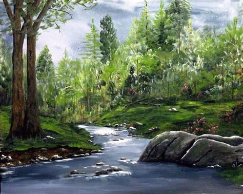 acrylic painting landscapes acrylic painted landscape landscape painting
