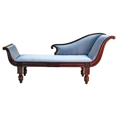 fainting chaise swedish mahogany fainting couch circa 1860 at 1stdibs