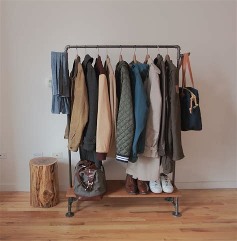 Closet Coat Rack how to make a diy industrial coat rack curbly