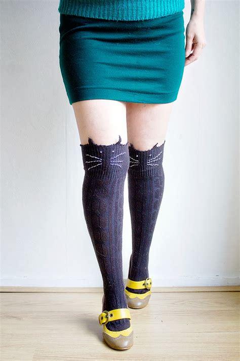 diy sock booties diy cat socks