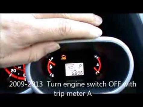 Reset Maintenance Light Toyota Camry 2009 Toyota Matrix Reset Maintenance Light For 2005 2013