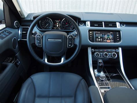 range rover sport interior 2014 range rover sport v8 review cars photos test