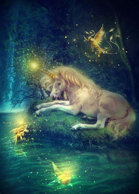 mystical a fantasy magical pegasus unicorns