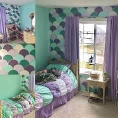 mermaid schlafzimmer kinderzimmer f 252 r kleine m 228 dchen das schlafzimmer einer