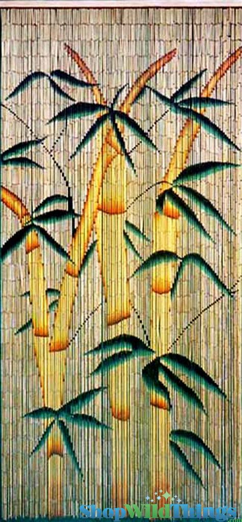 painted bamboo beaded curtains bamboo trees decorations hanging painted bamboo beaded