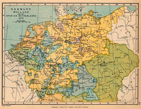 map netherlands germany netherlands germany map