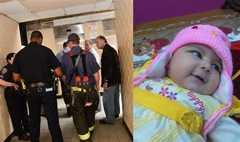 Newborn Fell On Floor by 6 Week Baby Dies After Stroller Falls Elevator