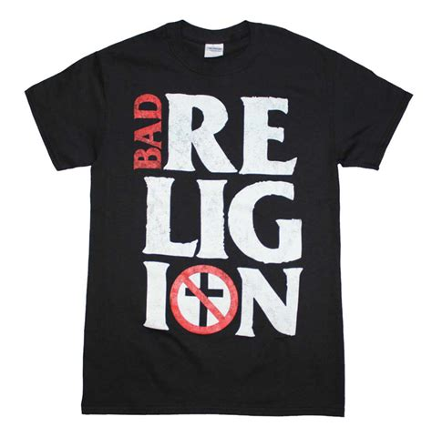 Tshirt Bad Religion Item bad religion stacked logo t shirt