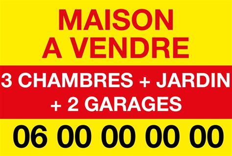 affiche maison a louer affiche maison 224 vendre ou 224 louer 80x60 cm maison
