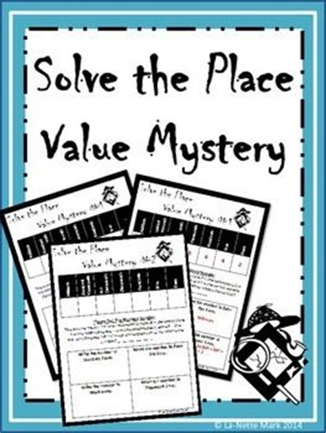 Solved Mystery Of The 000 by Solve The Place Value Mystery