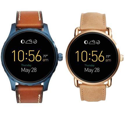 Zwei neue Fossil Smartwatches mit android wear vorgestellt